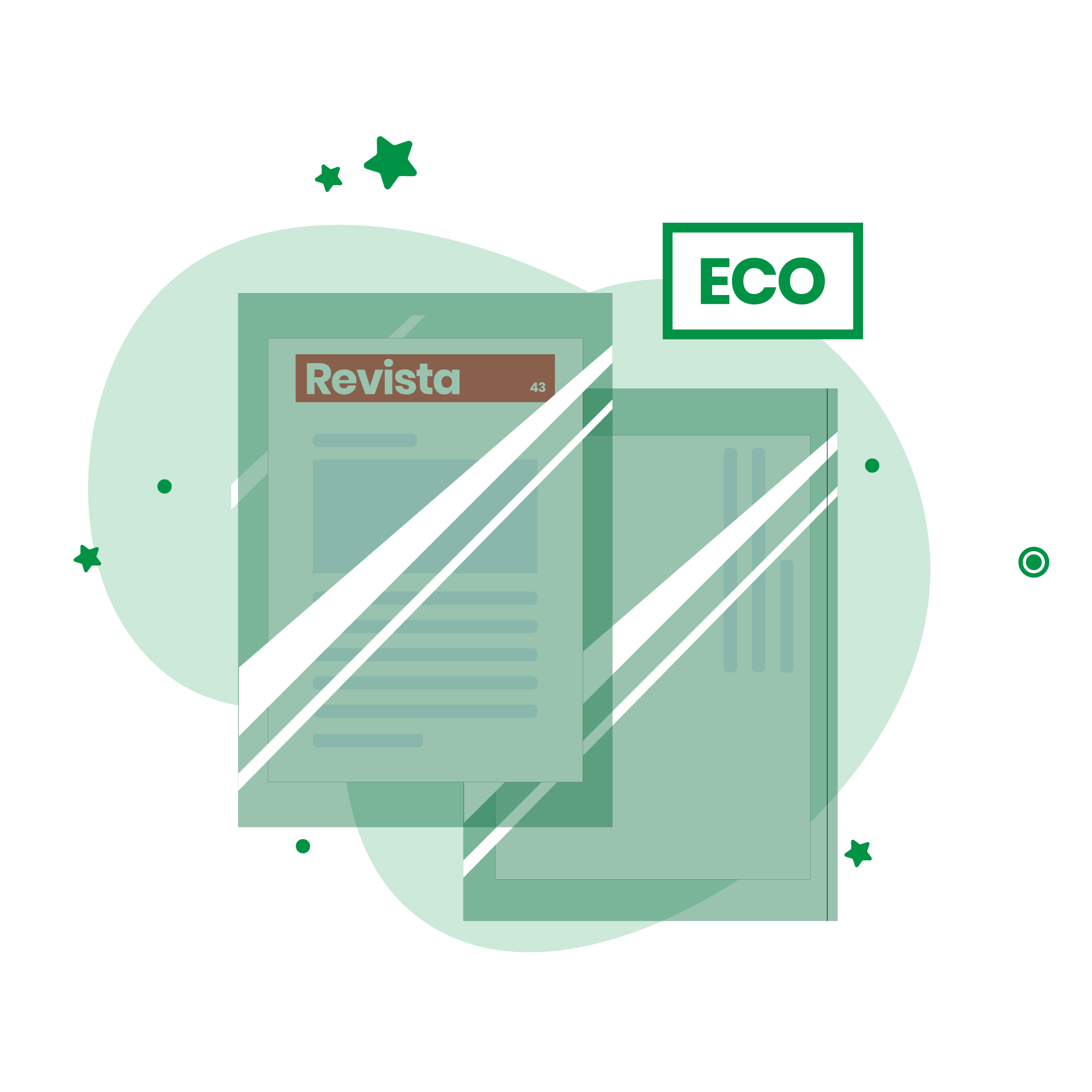 mailing con embolsado ecológico